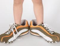 Zapatos enormes