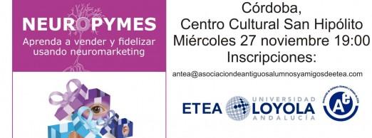 Conferencia Neuropymes en Córdoba
