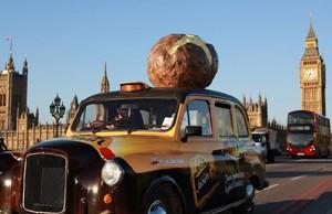 Un taxi que huele a ¡patata!